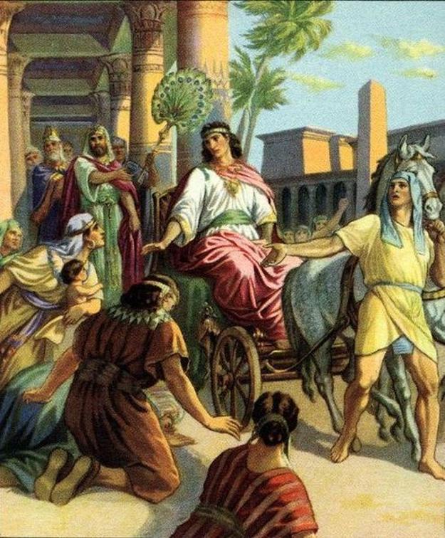 Иосиф стал визирем Египта. Иллюстрация, 1926 год