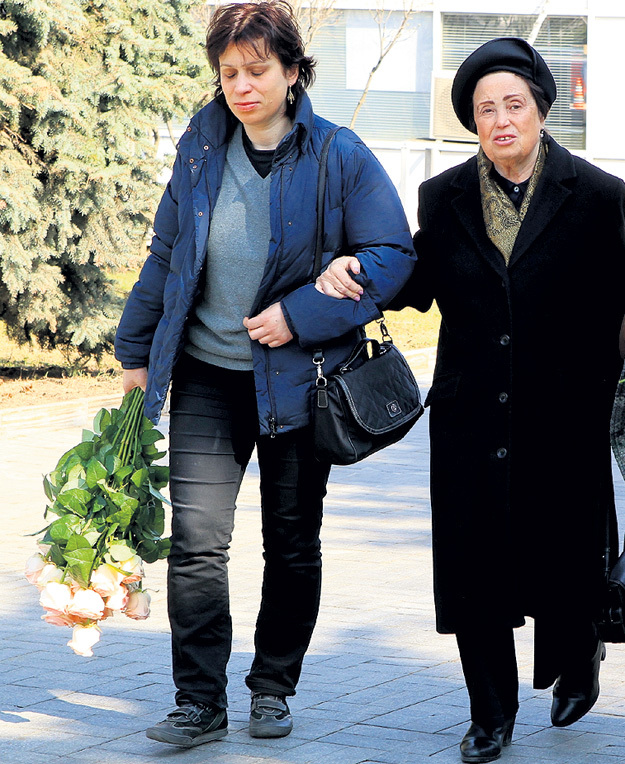 Дочь Сергея КОРОЛЁВА Наталья и его внучка Мария