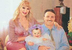 РАСПУТИНА: с супругом Виктором Захаровым и дочкой Машей