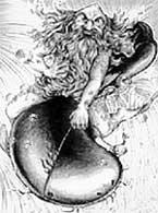 Водяной НИКС (гравюра XVII века)