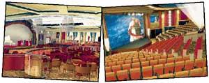 &#034QUEEN MARY 2&#034: музыкальный салон и кинозал должны скрасить досуг и отвлечь от мрачных мыслей