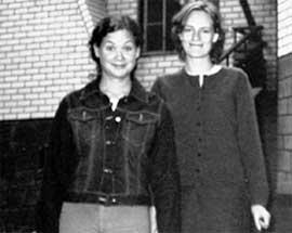 МАША (слева) И МАРИНА: единственная дочка Егора Гайдара дружит с женой Максима