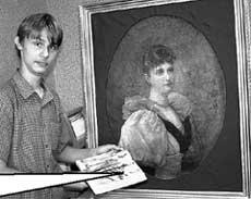 ТАИНСТВЕННАЯ КАРТИНА: сын художника Кирилл Шадчев разглядел в ней портрет Алисы Гессенской