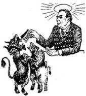 ПРЕЗАБАВНАЯ ТАТУШКА: бровеносец и зверушки