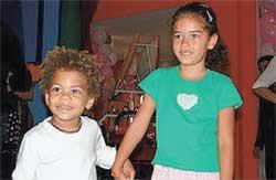 ПРИЕМНЫЕ ДЕТИ: Франсишку и Стефани