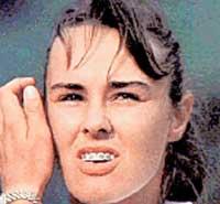 МАРТИНА ХИНГИС: звезда тенниса на корте многим показала зубы