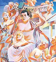 САТИРИЧЕСКАЯ МИНИАТЮРА: Зевс-Кобзон, взобравшись на Олимп, не хочет вспоминать о грехах молодости
