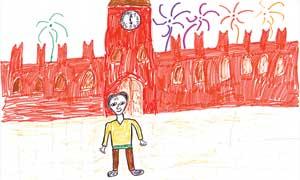 ПАША ВОЛЧКОВ (10 лет): Путин вышел на Красную площадь посмотреть салют