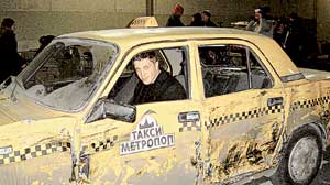 МАРТИН ИВАНОВ: под видом Мэтта Дэймона сейчас расколотит очередной автомобиль