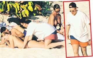 ПРИНЦ АЛЬБЕРТ: в 2000 году не только ухаживал за Оксаной Грищук, но и разглядывал красоток на нудистском пляже