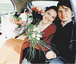 АКТЕРСКАЯ СЕМЬЯ: сразу после свадьбы Леся уехала на гастроли в Питер, а Андрей - в Китай на презентацию сериала