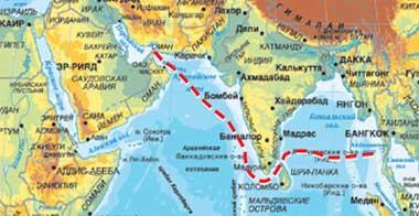 МАРШРУТ ГЕРОЕВ: от Дубая до Пхукета они прошли семь тысяч километров