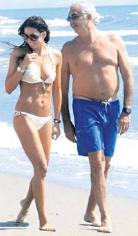 БРАЧНЫЙ КОНТРАКТ: Бриаторе договарился с Грегорачи, что будет продолжать платить алименты своей бывшей жене Хайди Клум, но зато прекратит встречаться с Наоми Кэмпбелл