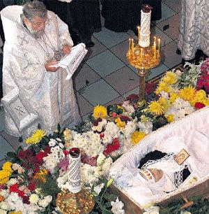 Отпели латышскую актрису по православному обряду