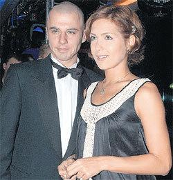 С женой Екатериной КЛИМОВОЙ