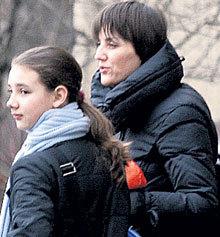 В дочери Людмилы ГОНЧАРУК Лизе многие усматривают сходство с ФОМЕНКО