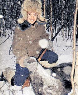 Андрей ГУБИН завалил кабана на глазах телерепортёров