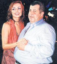 Александр ВОЛКОВ с любимой подопечной Катей ЛЕЛЬ
