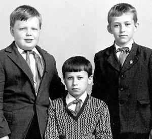 Четвероклассник Серёжа КРЫЛОВ с друзьями, Тула, 1971 год