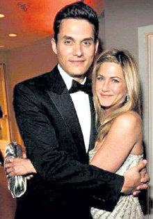 Дженнифер и Джон на церемонии «Оскар - 2009»...