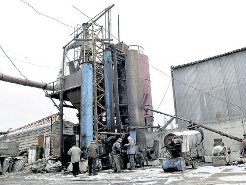 Самодельный заводик даст 900 т солярки