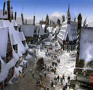 Макет парка «Волшебный мир Гарри Поттера»