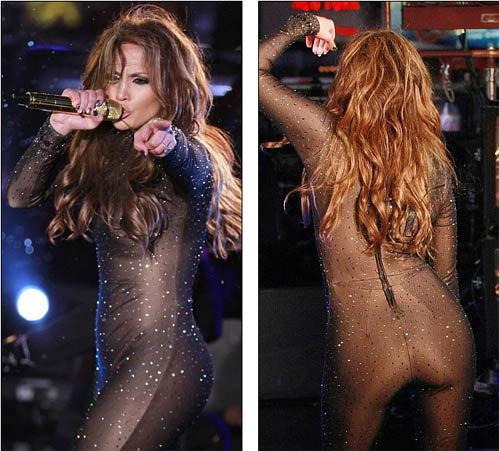 Певица продемонстрировала свою знаменитую попу, которая привела зрителей в полный восторг. Фото: Daily Mail