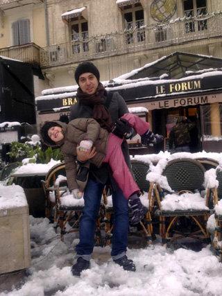 Алексей с дочкой Мией