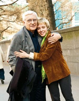 Ксения Басилашвили с отцом