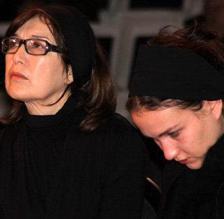 Вдова и дочь Георгия ГАРАНЯНА