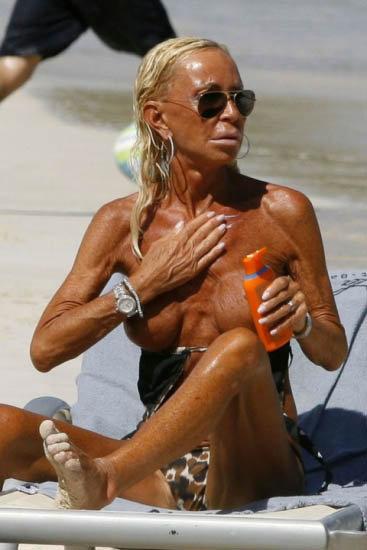 В последнее время звезда Донателло явно переусердствовала с диетами и солярием. Фото: celebrity-gossip.net