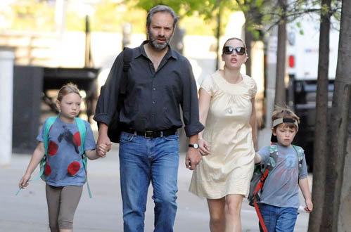 Кейт и Сэм с детьми