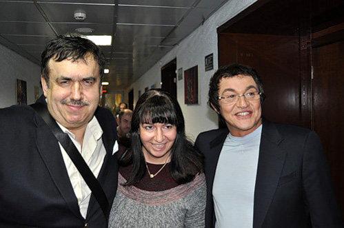 Станислав Садальский, Дмитрий Дибров и его спутница. Фото из блога Станислава Садальского