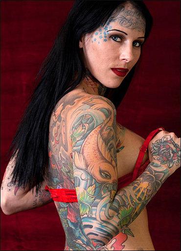 Татуированная Мишел разрушила семейную жизнь Сандры