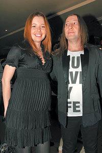 ШУРА с женой Лизой