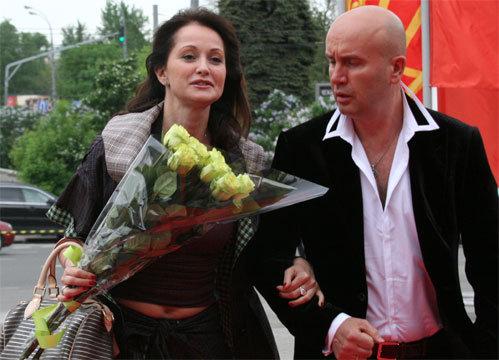 Ольга КАБО с мужем Николаем (Фото Натальи ПЬЕТРЫ)