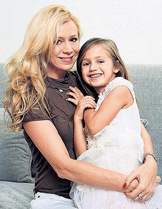Дочка олимпийской чемпионки Скарлет-Грейс - очень музыкальная девочка