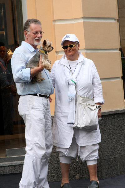 Светлана КОНЕГЕН с мужем