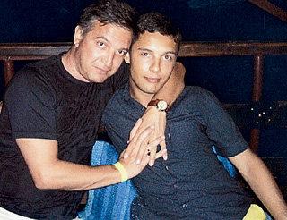 Игорь со старшим сыном Станиславом