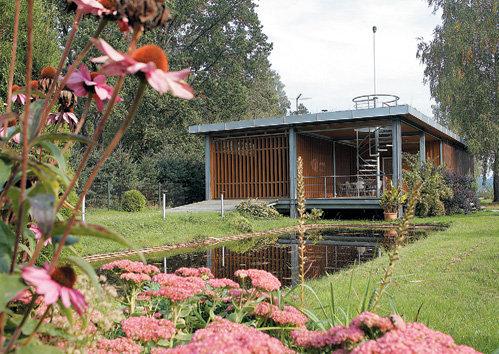 Дом ПАУЛСА отлично вписывается в неброские местные ландшафты