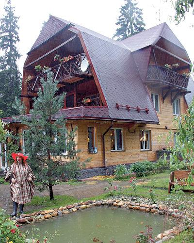 Кира ПРОШУТИНСКАЯ стала первой знаменитостью, поселившейся в Новоглаголево