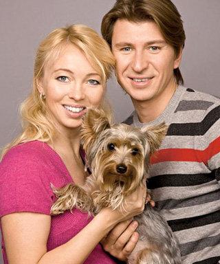 Татьяна ТОТЬМЯНИНА и Алексей ЯГУДИН будут воспитывать дочку так же строго, как собаку - фото telesem.ru