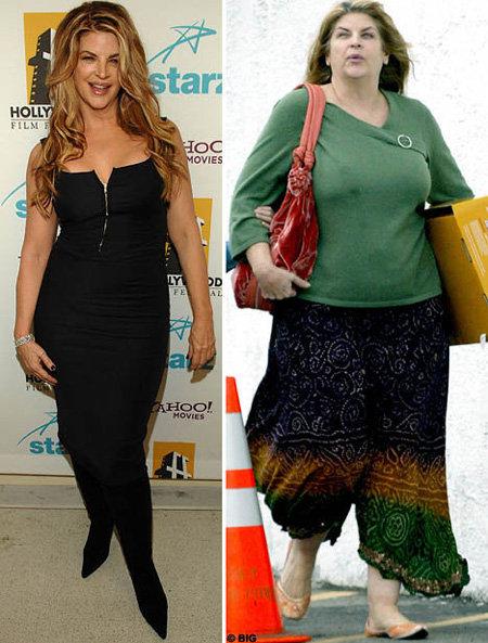 Когда-то актриса весила 60 кило, но потом поправилась до 105