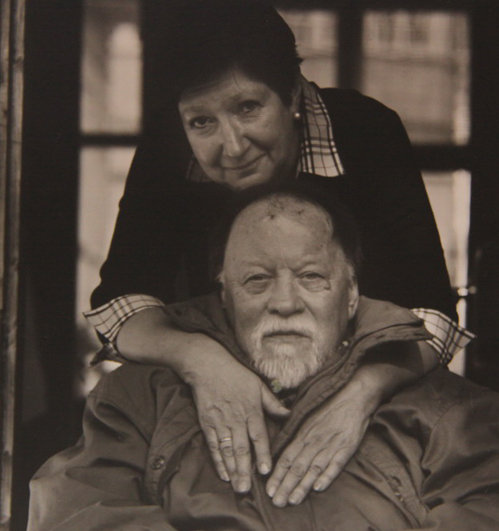 Михаил Михайлович с женой Татьяной