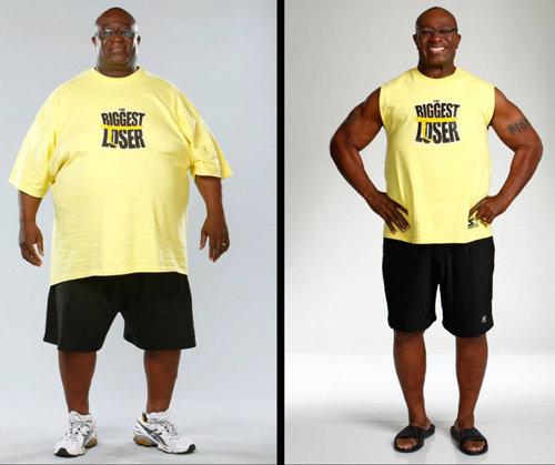 О'Нил Хэмптон младший (51 год). Начальный вес: 176 кг. Похудел до 104 кг. Потерял: 72 кг