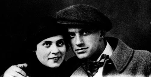 Л. Брик и В. Маяковский, 1915 г. Фото: ru.wikipedia.org