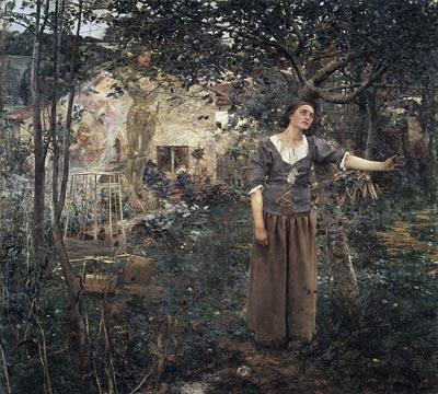 Видение Жанны д'Арк (Жюль Бастьен-Лепаж, 1879 год). wikimedia.org