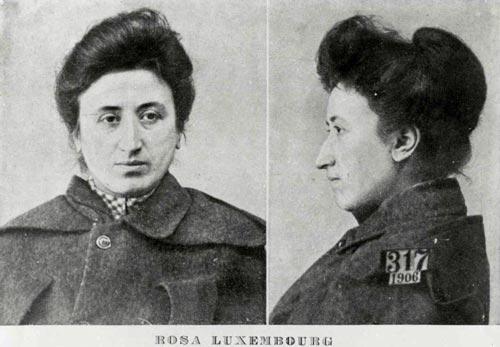 Роза Люксембург в тюрьме, ей 43-45 лет. Фото: Rosaluxemburgblog.wordpress.com