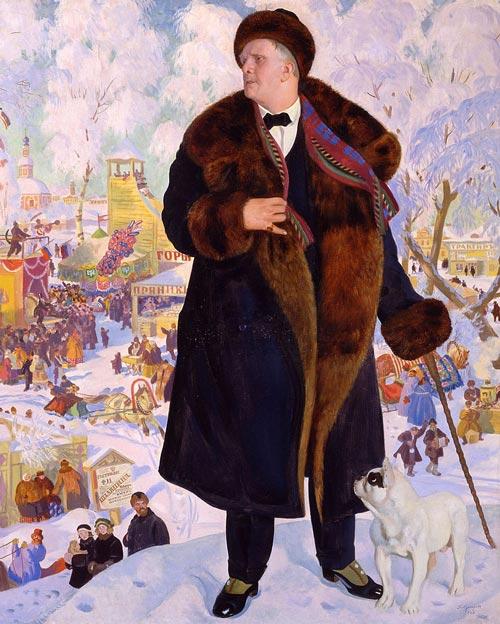 Портрет Ф. И. Шаляпина, художник Б. Кустодиев, 1922 г. Фото: ru.wikipedia.org