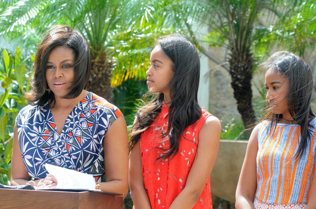 Пользователей Интернета изумило настоящее имя дочери Обамы